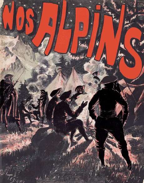 Nos Alpins - 1898 - Couverture